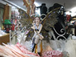 steampunk, steampunk fairy, steampunk fairy figure, steampunk fairy figurines