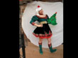 elf dress, chrismas elf, female christmas elf