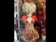 christmas costume, gingerbread, female costume